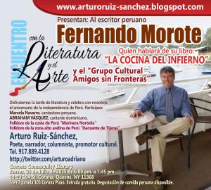 Fernando Morote Encuentro con la Literatura