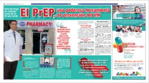 foto de la doble página de salud