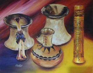 Foto vasijas precolombinas