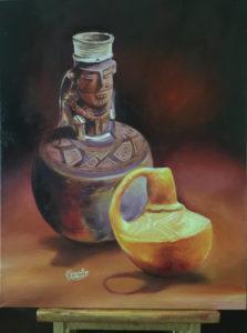 foto Anthropomorphous jarra - Muisca y Múcura miniatura