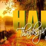 Diseño para Happy Thanksgiving Day