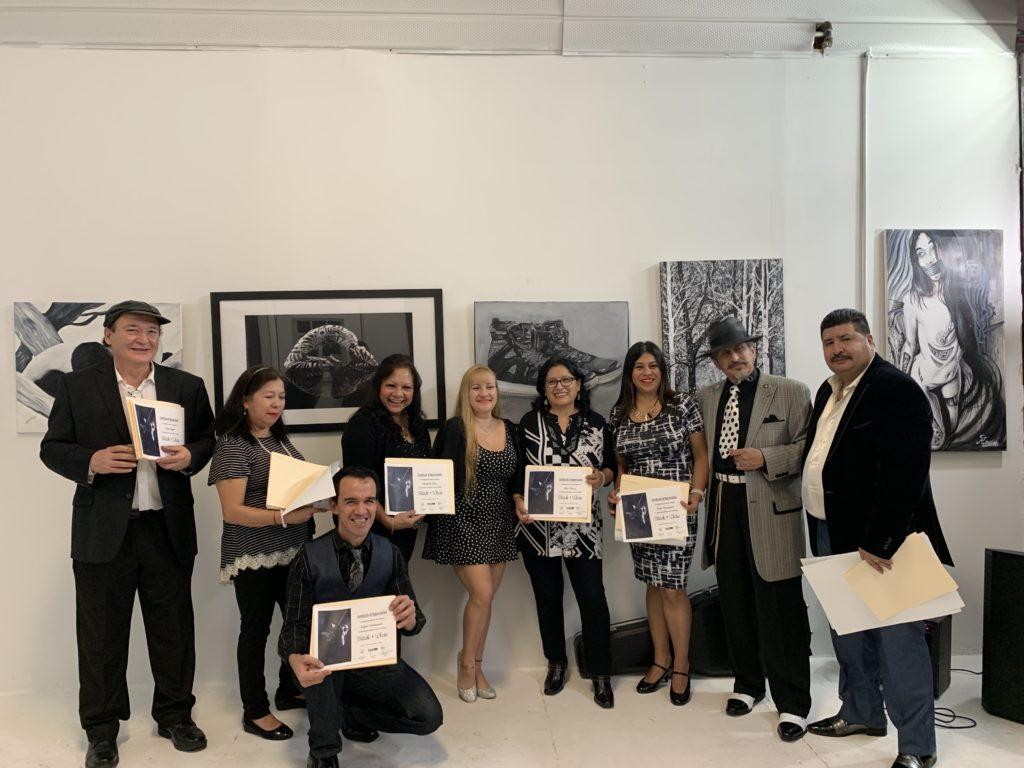 foto Grupo de artistas
