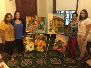 foto Con Gladys Ochoa, su mami y amiga
