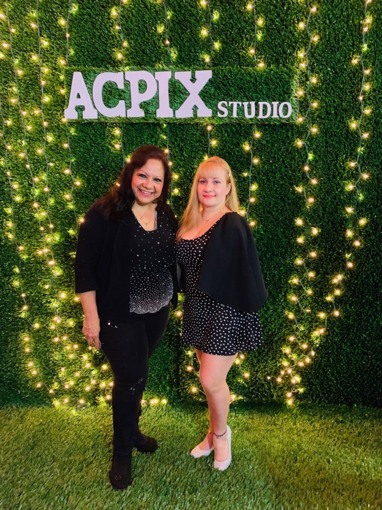 foto Con Linda Riveros en el ACPIX Studio