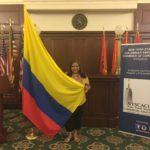 foto Orgullosamente colombiana