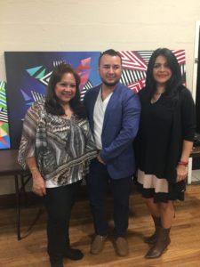 foto Elizabeth Arias Ojeda, Mauricio Alzate y Massiel Alvarez