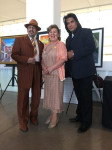 foto Amado con Blanca Mora y Juán José