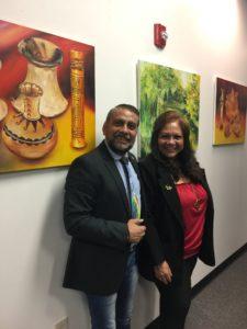 foto Con Walter Castañeda, Vicecónsul de El Salvador