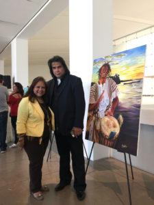 foto Con Juan José Rodríguez el hijo de El PUMA