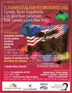 Foto del flyer para el evento