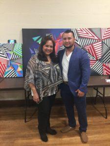 foto Elizabeth Arias Ojeda y Mauricio Alzate