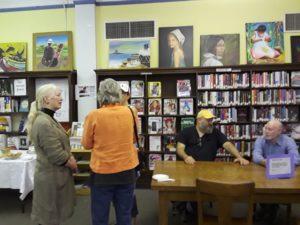 Foto con visitantes de la región de Syracuse