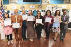 foto Grupo con los certificados