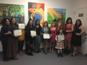 foto Grupo con María Lizardo y Varios artistas