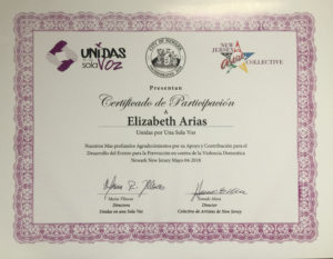 foto Certificado de Participación