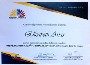 Foto del Reconocimiento, Asamblea Nacional República del Ecuador