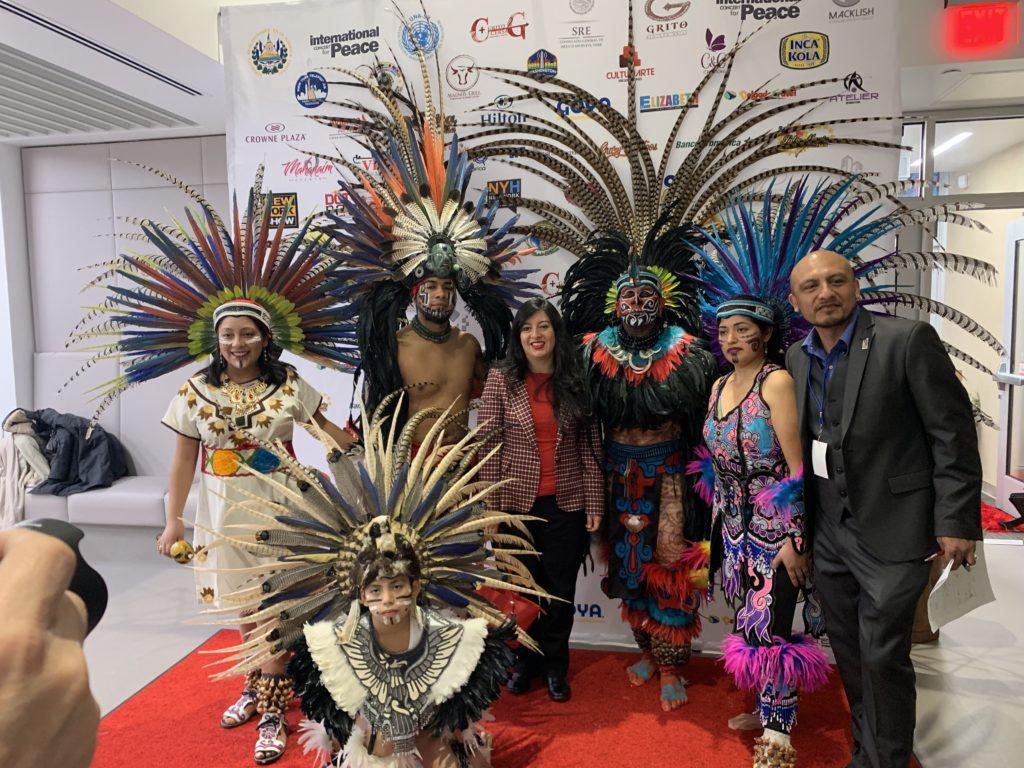 foto Grupo de danzas de México