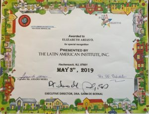 foto Diploma otorgado por Latin American Institute Inc