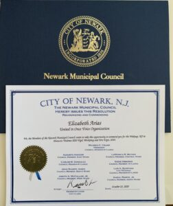 Recognition City of Newark, NJ Expo 2020