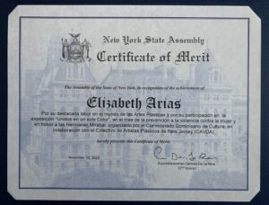 Certificate of Merit - New York State Assembly